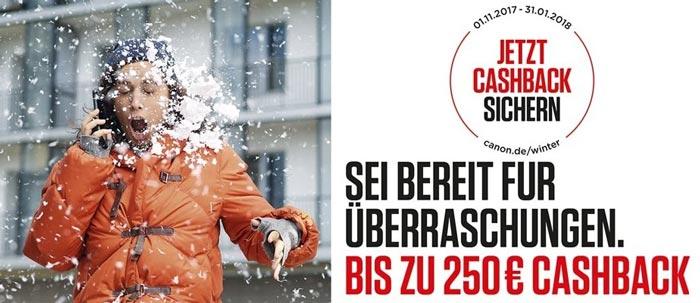 Canon Cashback Aktion