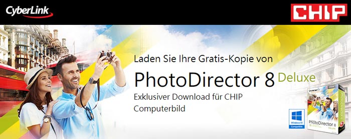 Cyberlink PhotoDirector 8 Deluxe