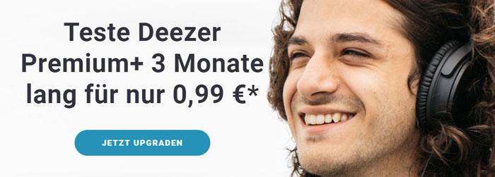 3 monate deezer premium musik streaming f r einmalig 0 99. Black Bedroom Furniture Sets. Home Design Ideas
