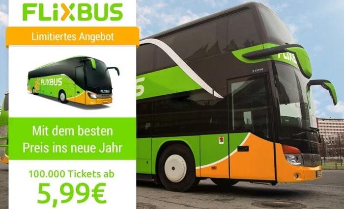 Flixbus Tickets App Aktion