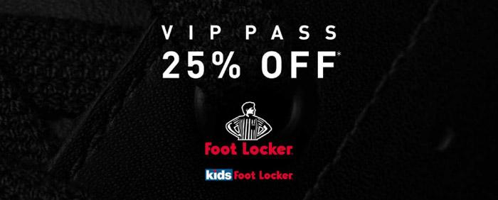 Foot Locker VIP Pass