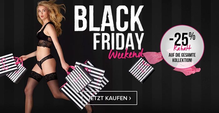 Hunkemöller Black Weekend