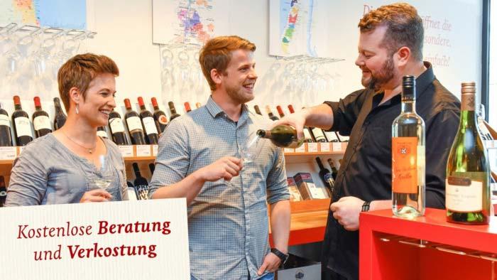 Jacques Wein Depot Beratung