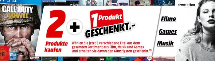 Media Markt Nimm 3 Zahl 2 Aktion