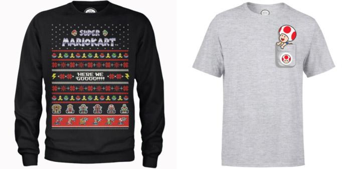 Nintendo Weihnachtspullover