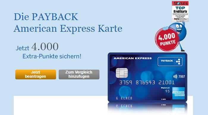 payback american express kreditkarte kostenlos punkte. Black Bedroom Furniture Sets. Home Design Ideas