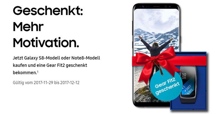 Samsung Weihnachtsaktion
