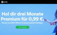 Spotify Premium Neukunden Angebot