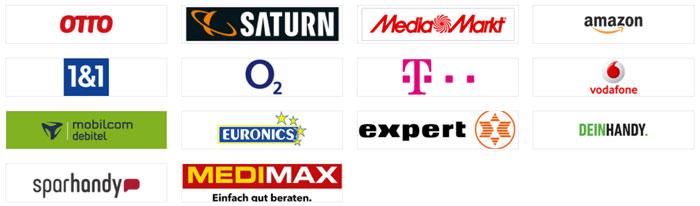 Teilnehmende Händler Samsung Weihnachtsaktion