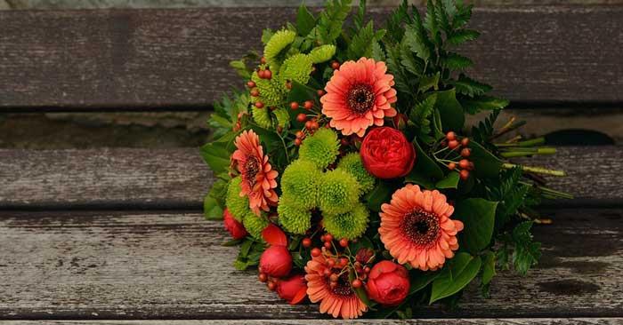 Blumen verschenken