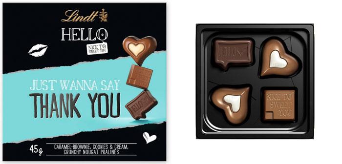 Danke Nachbar Schokolade