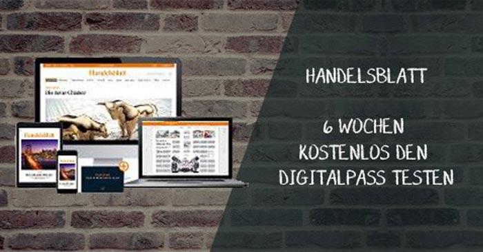 Handelsblatt Digitalpass