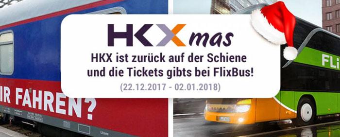 HKX Zug Gutschein