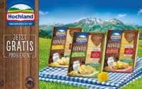 Hochland Käse gratis testen