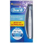 Braun Oral-B Pulsonic Slim Schallzahnbürste im Doppelpack (silber) für 49,99€