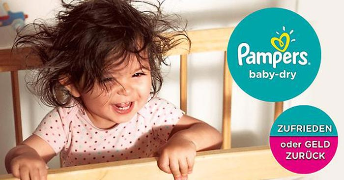 Pampers Windeln gratis testen