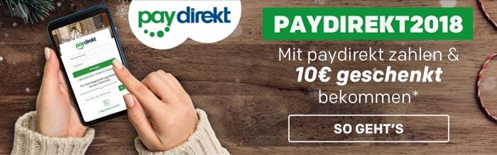 Paydirekt Gutschein Rakuten