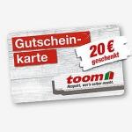 Toom Gutschein Tag: 20€ Gutschein für jeden 100€ Einkauf geschenkt
