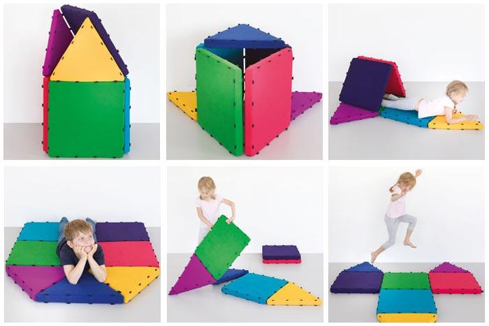 tukluk spielmatten set h hle der l wen f r 94 94. Black Bedroom Furniture Sets. Home Design Ideas