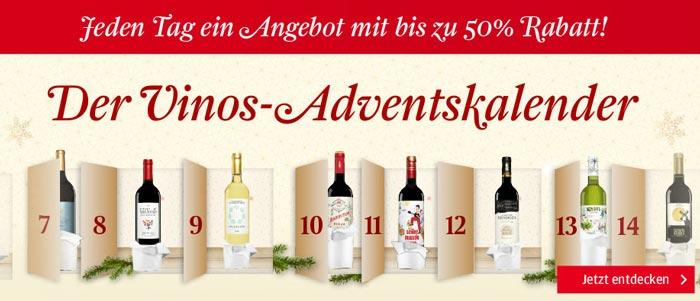 Vinos.de Adventskalender