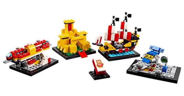 60 Jahre Lego Steineset