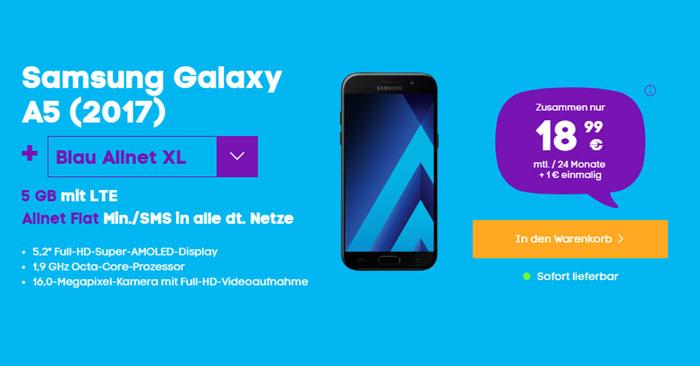 Samsung Galaxy A5 2017 Blau Allnet XL