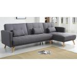 Bobochic Ecksofa Helly mit Bettfunktion und Chaise-Lounge für 402,98€
