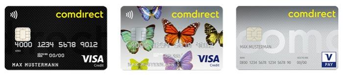 Comdirect Karten