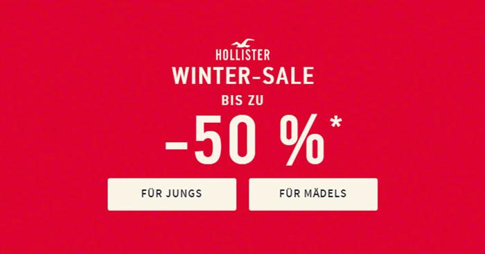 Hollister Winter Sale