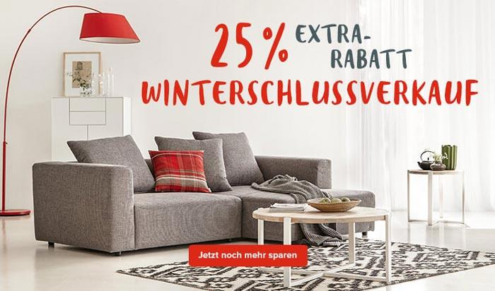 home24 winterschlussverkauf 25 gutschein auf sale. Black Bedroom Furniture Sets. Home Design Ideas