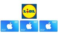 iTunes Karten LIDL