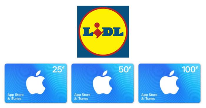 iTunes Gutscheine LIDL