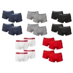 8er Pack Levi's Boxershorts (diverse Farben) für 47,98€