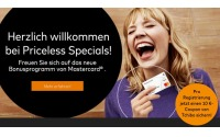 Mastercard Priceless Specials