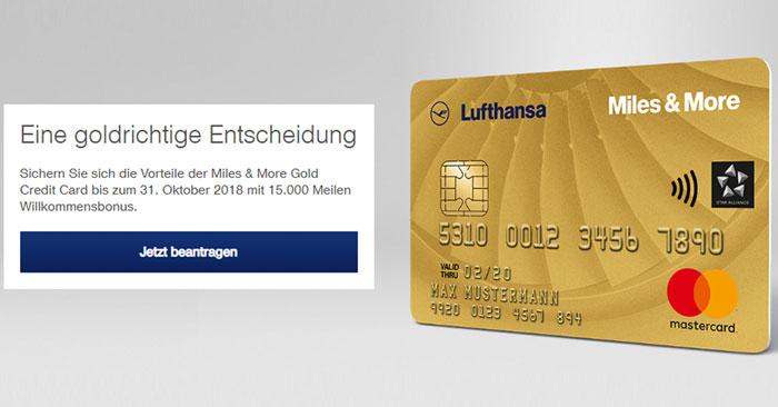 miles and more kreditkarte abrechnungsdatum ändern