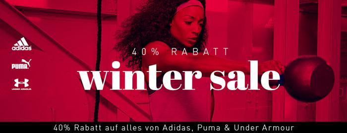 mysportswear Aktion: adidas, Puma & Under Armour