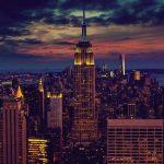 Lufthansa Flug von Berlin nach New York