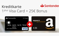Santander 1Plus Visa Card