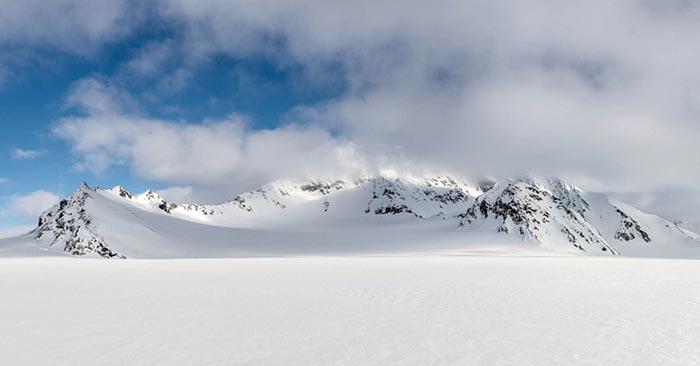 Spitzbergen Schnee