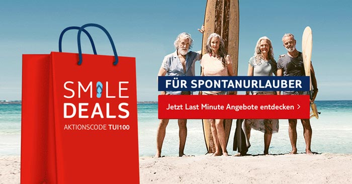 TUI Smile Deals