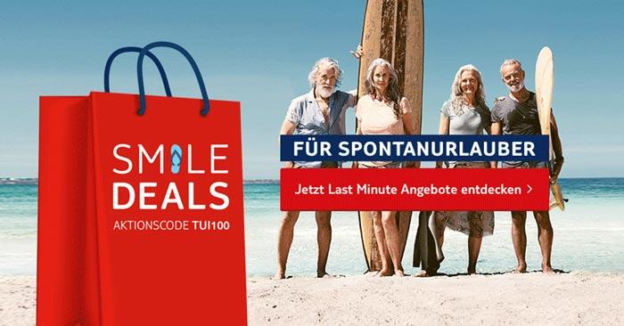 TUI Smile Deals