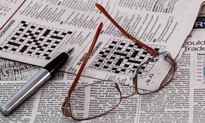 Zeitungen Rätsel