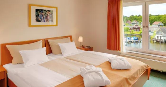 Zimmer im Precise Resort Marina Wolfsbruch