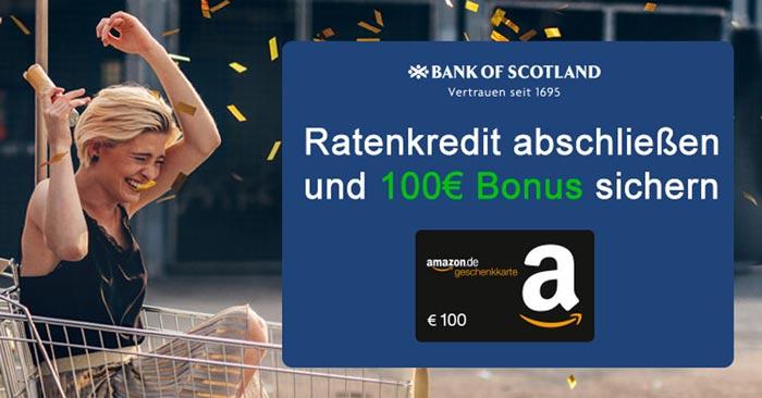 Bank of Scotland Ratenkredit
