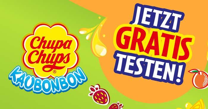 Chupa Chups Kaubonbons gratis