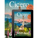 4 Monate Cicero Abo für 36,90€ + 40€ BestChoice Gutschein