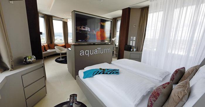 Designhotel Aquaturm Zimmer