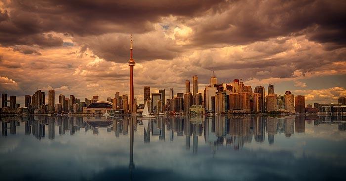 Hin- und Rückflug nach Kanada