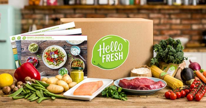 hellofresh kochbox gutschein mit 3 rezepten f r 2 4 personen ab 19 99. Black Bedroom Furniture Sets. Home Design Ideas