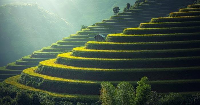 Hin- und Rückflug nach Bali